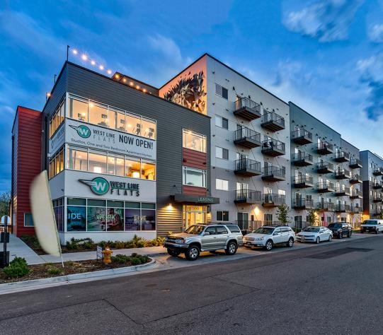 West Line Flats Apartments in Lakewood, CO